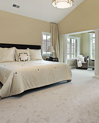 Bedroom with Carpet Flooring in Freeport, PA